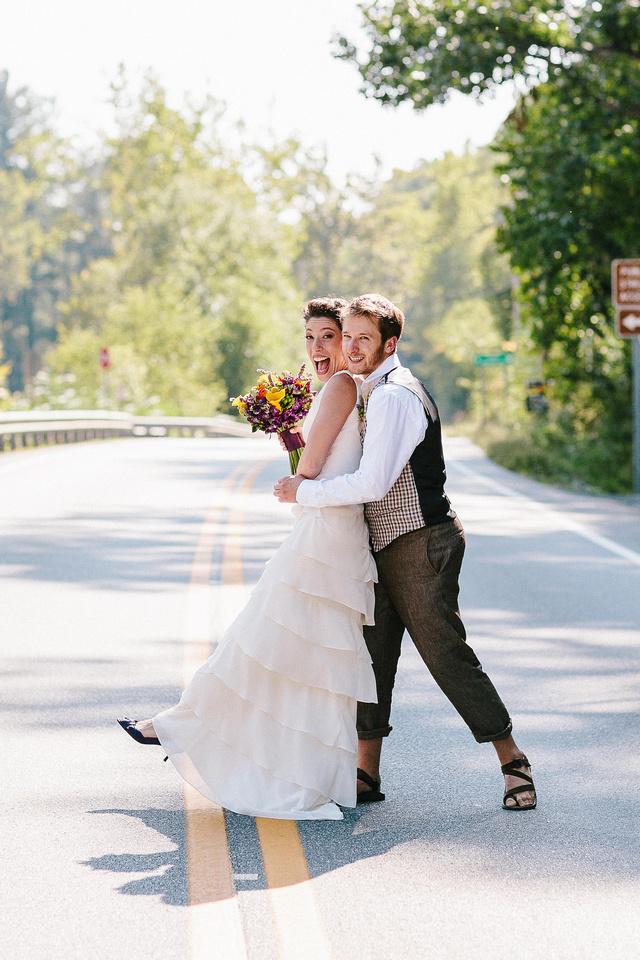 wedding photo in Capon Springs, West Virginia